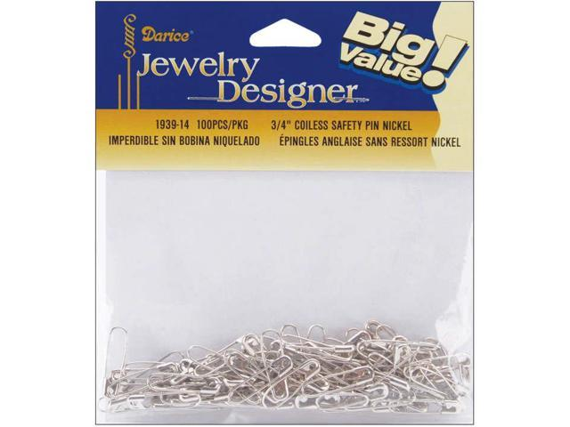 Coiless Safety Pins-.75
