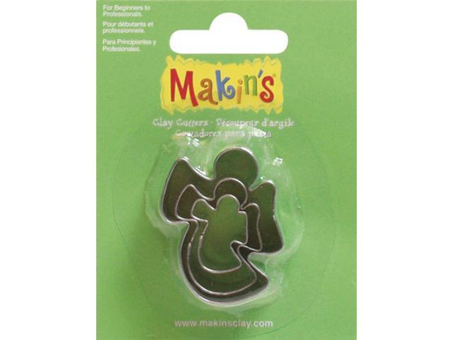Makin's Clay Cutters 3/Pkg-Angel