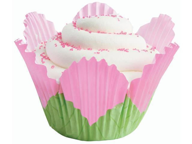 Baking Cups-Petal Pink 24/Pkg-Fancy Standard