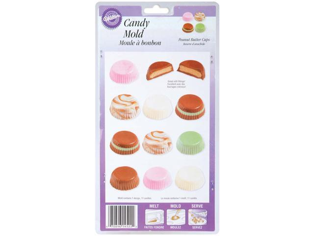 Candy Mold-Peanut Butter Cup 11 Cavity