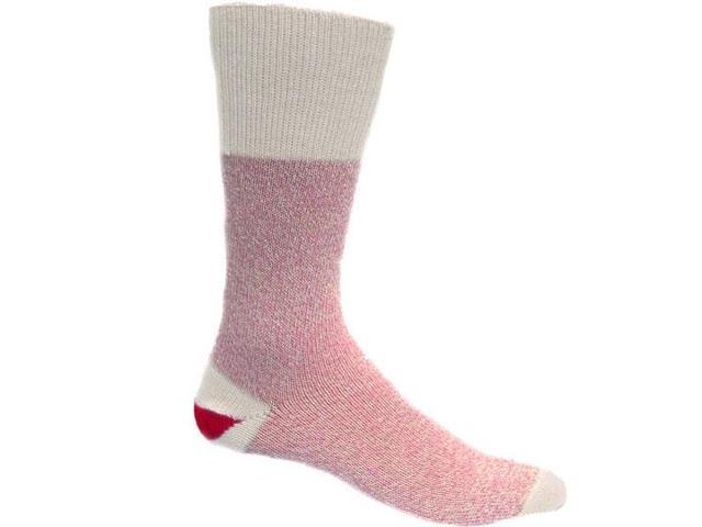 Red Heel Monkey Socks 2 Pairs-Size Small Pink
