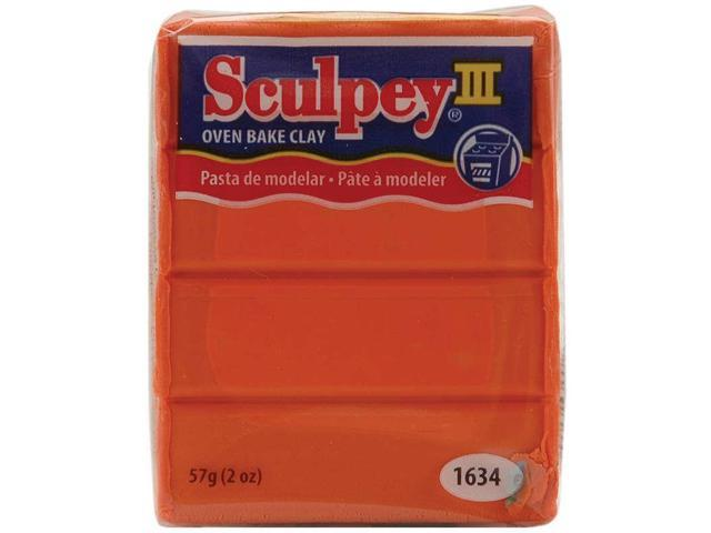 Sculpey III Polymer Clay 2oz-Just Orange