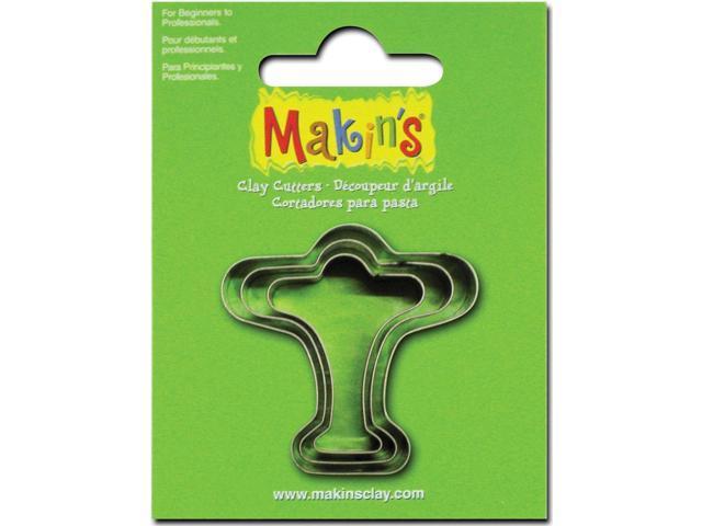Makin's Clay Cutters 3/Pkg-Airplane