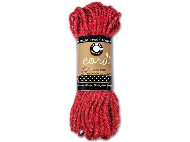 Hemp Rope 45'-Red