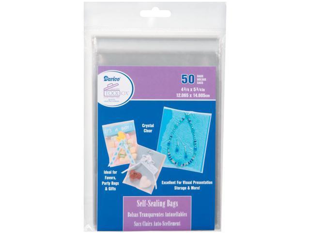 Self-Sealing Bags 50/Pkg-4.75