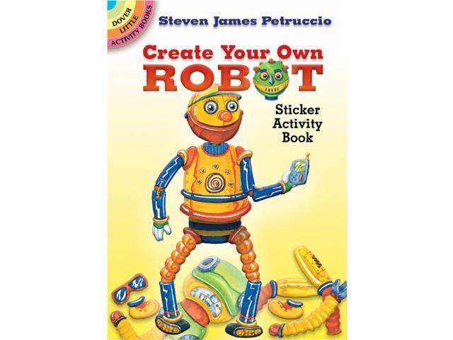 Dover Publications-CYO Robot Sticker Activity Book