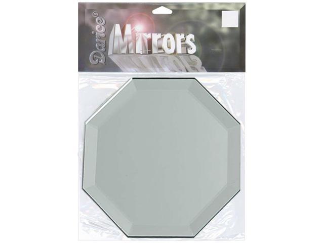 Octagon Glass Mirror W/Bevel Edge 1/Pkg-5