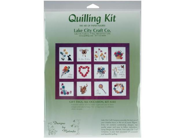 Quilling Kit-All Occasion Tags
