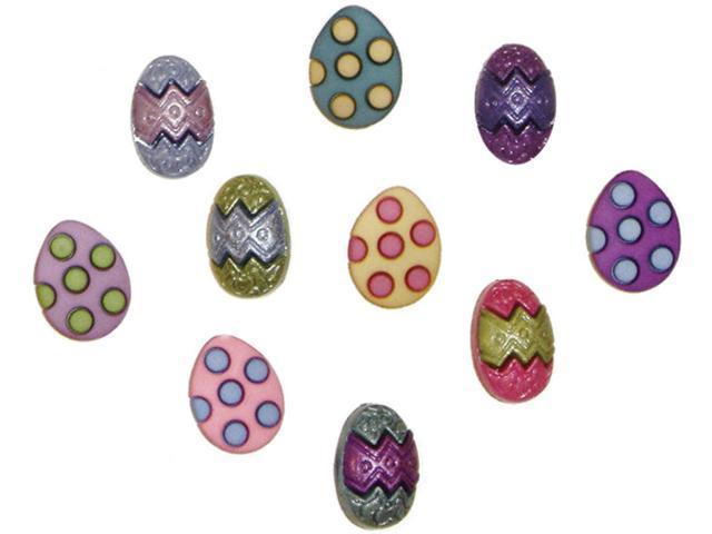 Dress It Up Holiday Embellishments-Painted Eggs