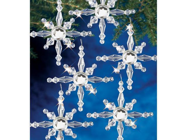 Holiday Beaded Ornament Kit-North Stars 2.5