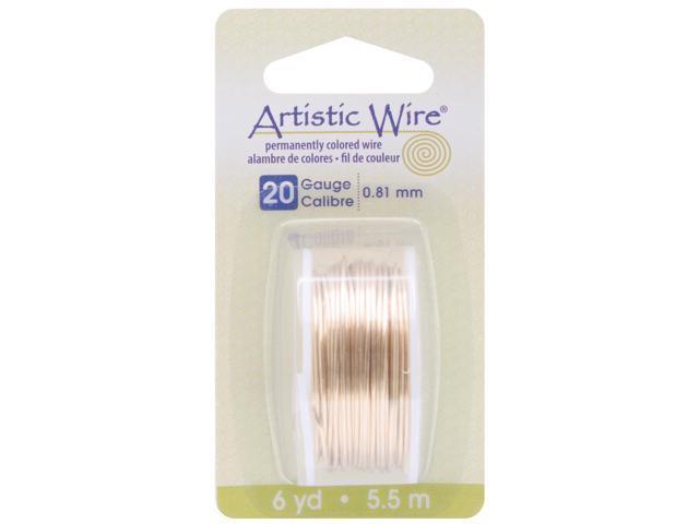 Artistic Wire-Brass - 20 Gauge, 6yd
