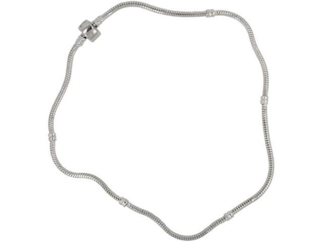 Uptown Necklace 1/Pkg-Metal-Style #1 Silver 21