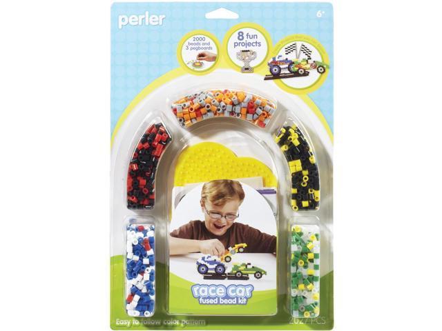 Perler Beads Fused Bead Kit - Race Car