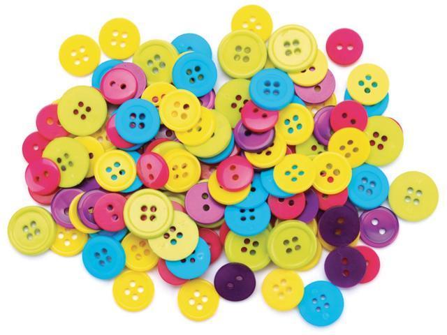 Favorite Findings Buttons 130/Pkg-Fun