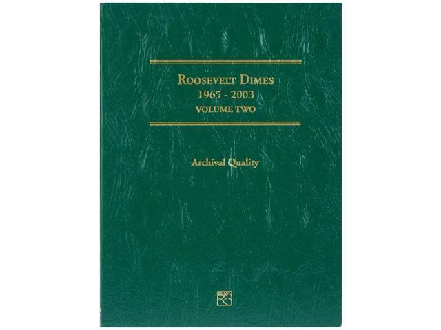 Roosevelt Dime Folder-1965-2003