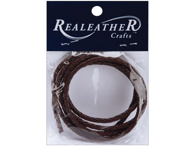 Round Braided Leather Lace 3mmX40