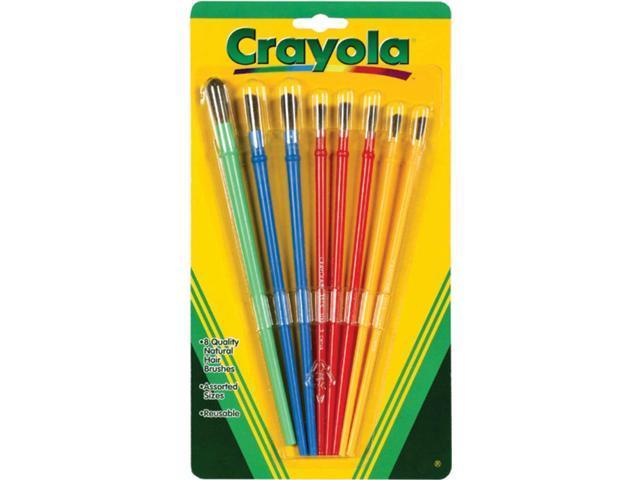 Crayola Paintbrushes-8/Pkg
