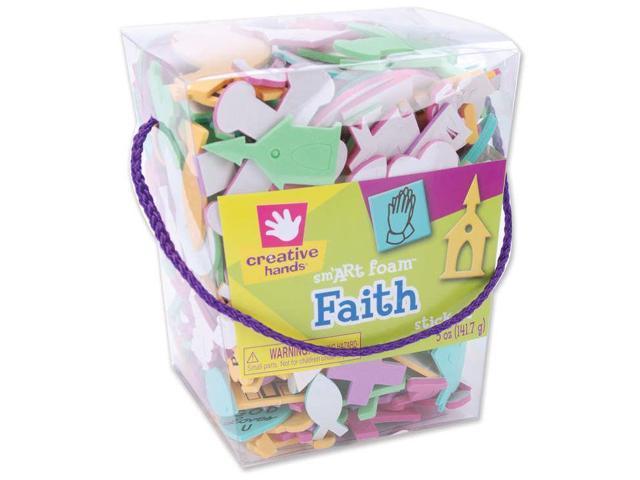 Foam Stickers 5oz-Faith