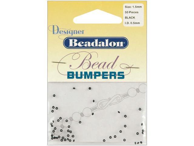 Bead Bumpers 1.5mm 50/Pkg-Black