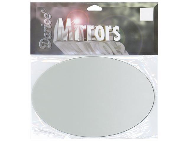 Oval Glass Mirror 1/Pkg-4