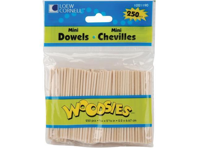 Woodsies Mini Dowels 2-5/8