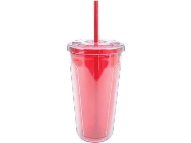 Double-Wall Tumbler 24oz-Red