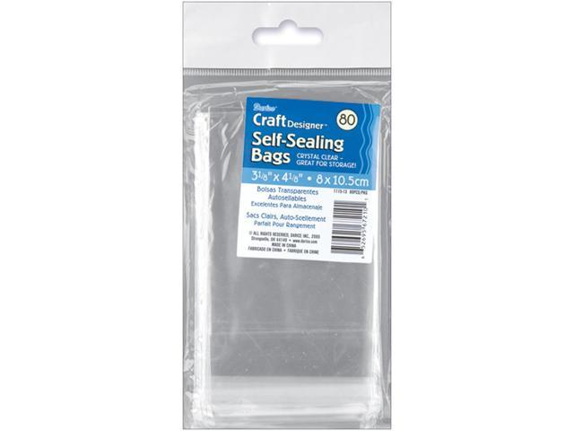 Self-Sealing Bags 80/Pkg-3.125