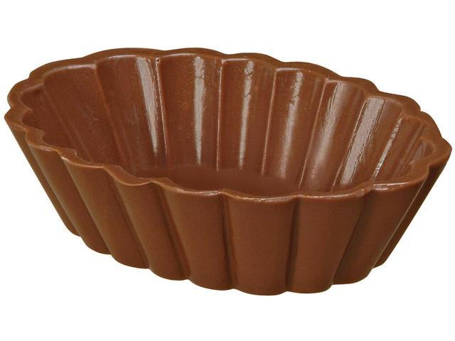 Candy Mold 2/Pkg-Dessert Shell 3 Cavities (2 Piece)