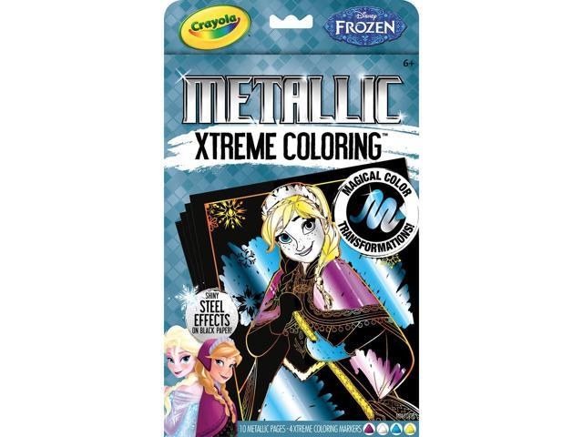 Crayola Xtreme Coloring Kit-Metallic - Disney Frozen