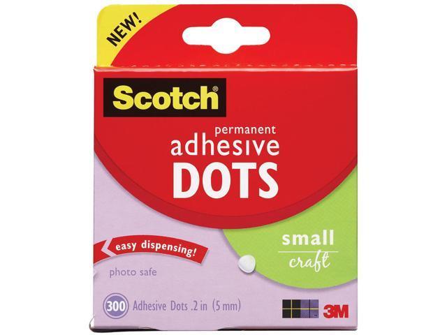 Scotch Permanent Adhesive Dots-Small Craft .2