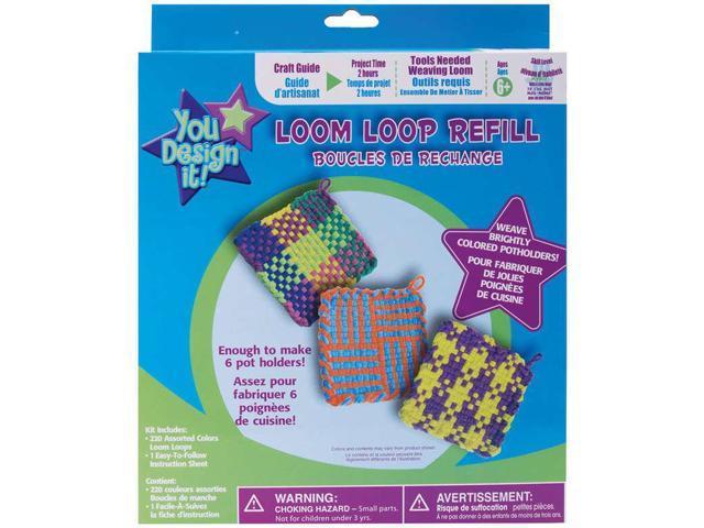 You Design It Loom Loop Refill Kit-Assorted