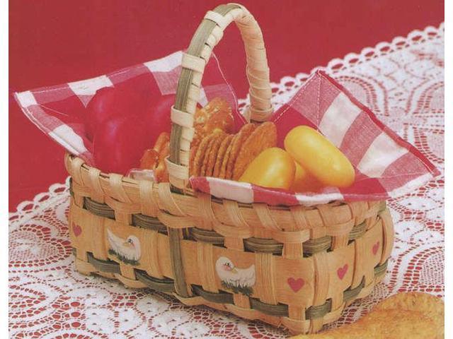 Burgundy Hill Basket Kit-Gift Basket 3.5