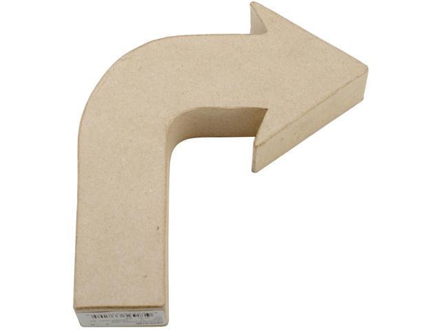 Paper-Mache Arrow-90 Degree Turn
