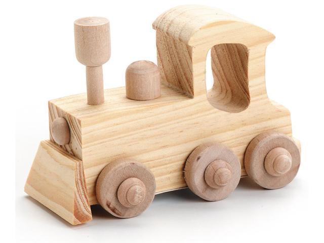 Wood Model Kit-Locomotive 4