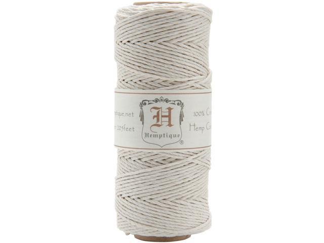 Hemp Cord Spool 20lb 205'-White
