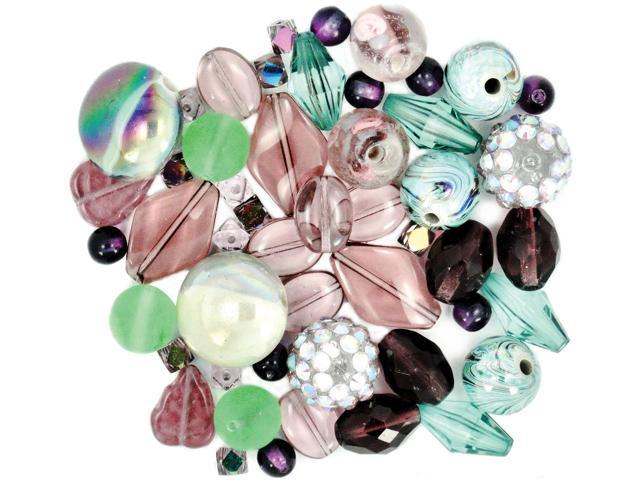 Design Elements Beads 28g-African Violet