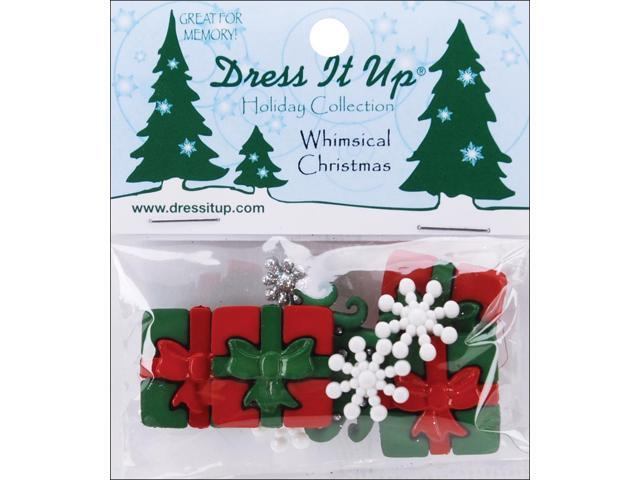 Dress It Up Holiday Embellishments-Whimsical Christmas