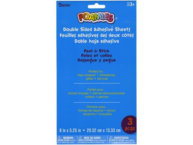 Foamies Double-Sided Adhesive Sheets-8.5