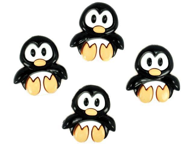 Dress It Up Embellishments-Playful Penguins