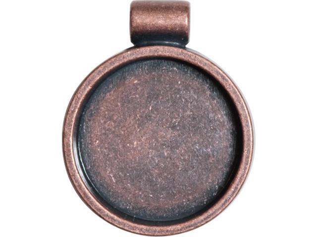 Lisa Pavelka Bezel-Antique Copper Round
