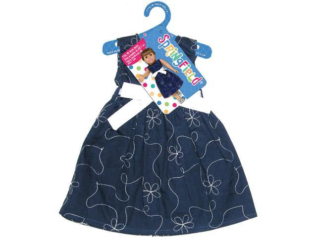 Springfield Collection Party Dress-Navy