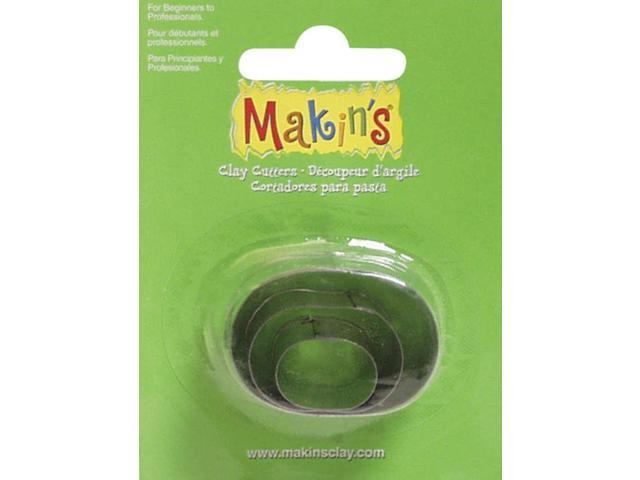 Makin's Clay Cutters 3/Pkg-Oval