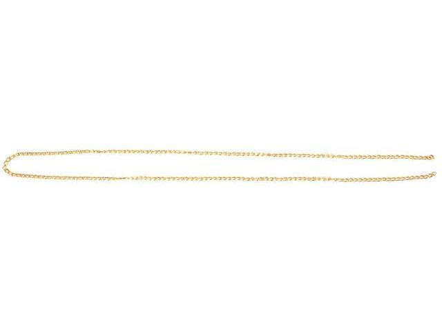 14k Plated Gold Elegance Beads & Findings-Chain #2 18