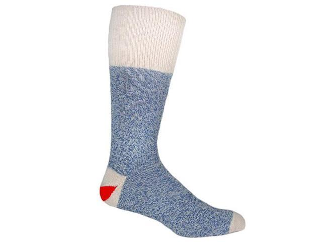 Red Heel Monkey Socks 2 Pairs-Size Medium Blue