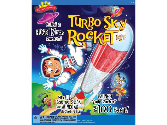 Scientific Explorers Turbo Sky Rocket Kit-