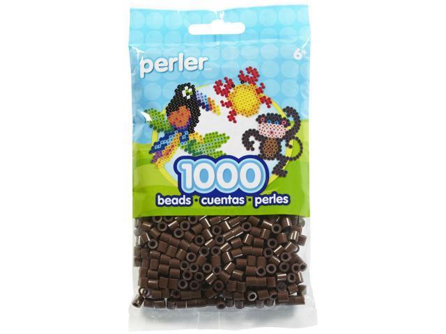 Perler Fun Fusion Beads 1000/Pkg-Brown