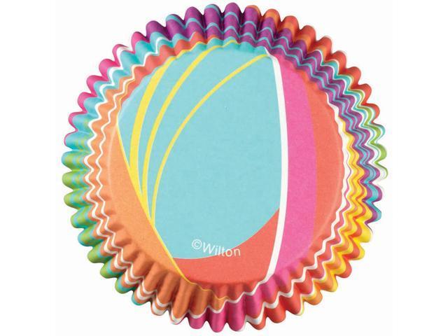 ColorCup Standard Baking Cups-Rainbow Stripes 36/Pkg