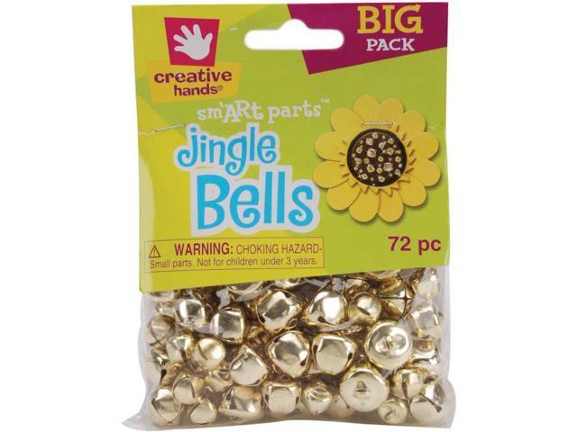 Jingle Bells 6mm To 16mm 72/Pkg-Gold