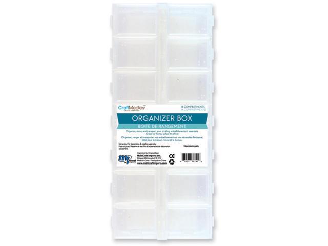 Organizer Box W/Snap Lids 14 Compartments-9
