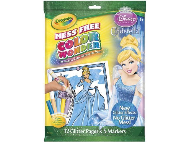 Crayola Color Wonder Coloring Kit-Disney Cinderella